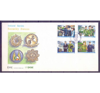 Znaczek Irlandia 1988 Mi 658-661 FDC