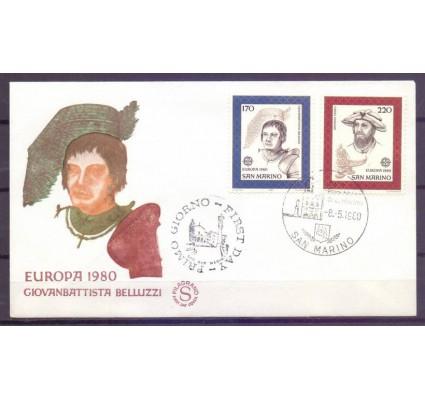 Znaczek San Marino 1980 Mi 1212-1213 FDC