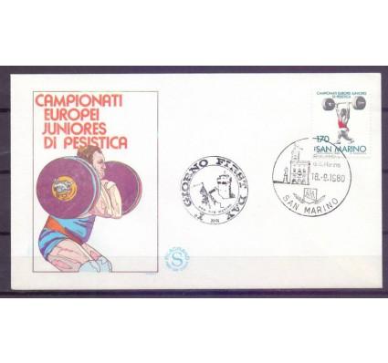 Znaczek San Marino 1980 Mi 1221 FDC