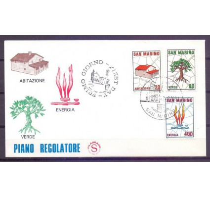 Znaczek San Marino 1981 Mi 1237-1239 FDC