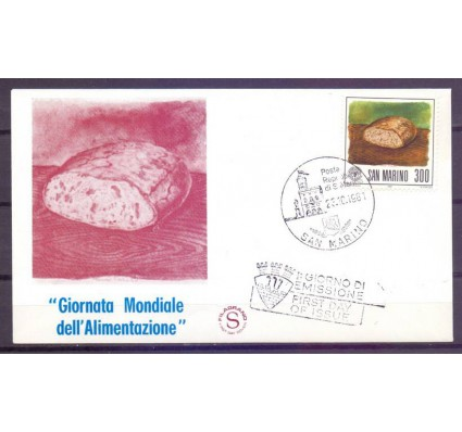 Znaczek San Marino 1981 Mi 1241 FDC