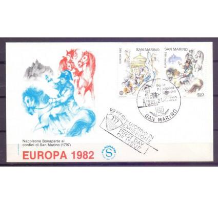 Znaczek San Marino 1982 Mi 1249-1250 FDC