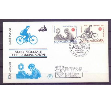 Znaczek San Marino 1983 Mi 1280-1281 FDC