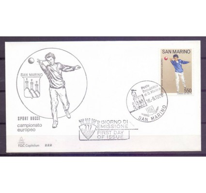 Znaczek San Marino 1986 Mi 1348 FDC