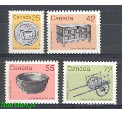 Kanada 1987 Mi 1035-1038 Czyste **
