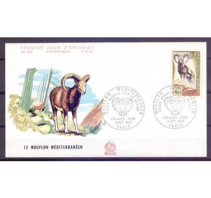 Znaczek Francja 1969 Mi 1683 FDC