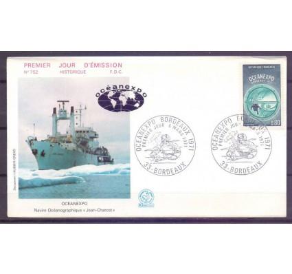 Znaczek Francja 1971 Mi 1740 FDC