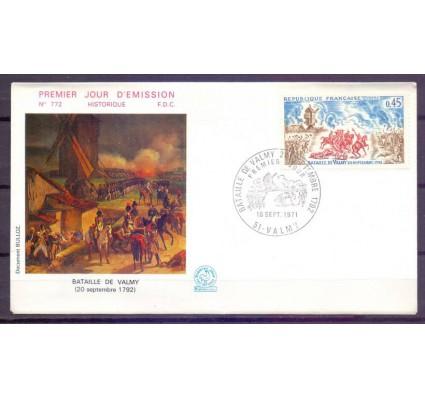 Znaczek Francja 1971 Mi 1767 FDC