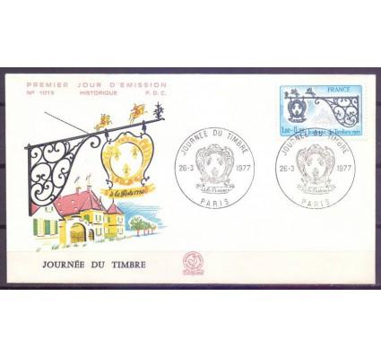 Znaczek Francja 1977 Mi 2017 FDC
