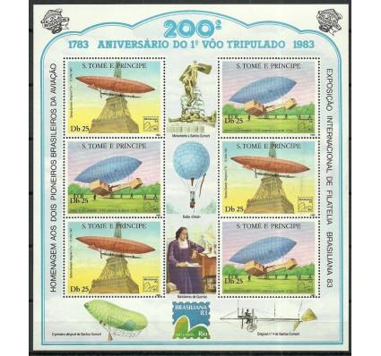 Znaczek Wyspy Św. Tomasza i Książęca 1983 Mi ark 827-828 Czyste **