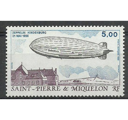 Znaczek Saint-Pierre i Miquelon 1988 Mi 559 Czyste **
