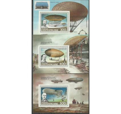 Znaczek Republika Środkowoafrykańska 1983 Mi bl 260-262 Czyste **