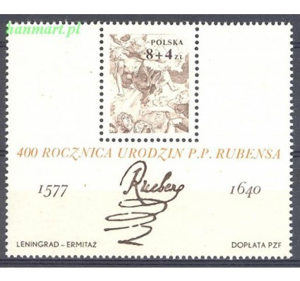 Polska 1977 Mi bl 67 Fi bl 100 Czyste **