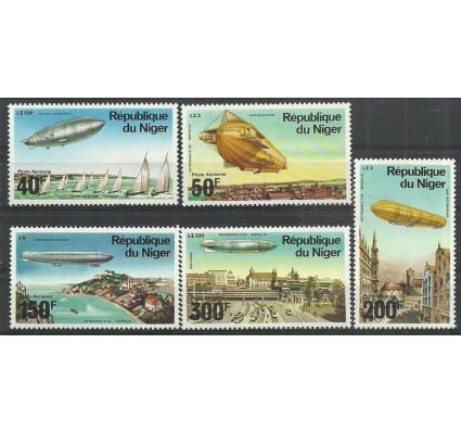 Znaczek Niger 1976 Mi 522-526 Czyste **