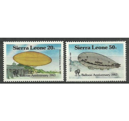 Znaczek Sierra Leone 1983 Mi 724-725 Czyste **