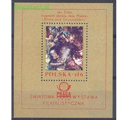 Znaczek Polska 1978 Mi bl 73 Fi bl 104 Czyste **