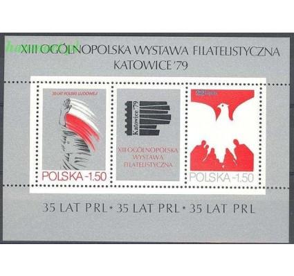 Polska 1979 Mi bl 77 Fi bl 107 Czyste **