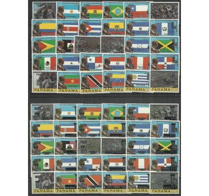 Znaczek Panama 1980 Mi 1335-1394I,II Czyste **