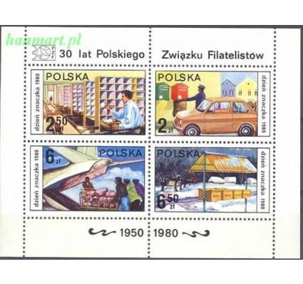 Znaczek Polska 1980 Mi bl 83 Fi bl 113 Czyste **