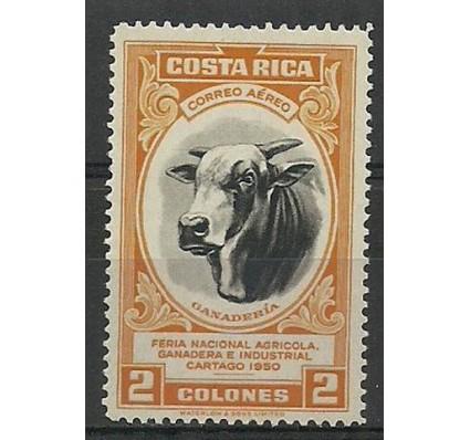 Znaczek Kostaryka 1950 Mi 470 Czyste **