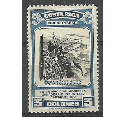 Znaczek Kostaryka 1950 Mi 471 Czyste **