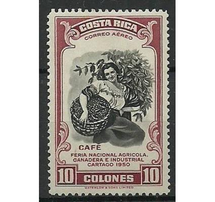 Znaczek Kostaryka 1950 Mi 473 Czyste **