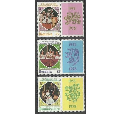 Znaczek Dominika 1978 Mi zf 577-579C Czyste **