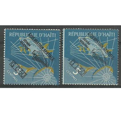 Znaczek Haiti 1962 Mi 693-694 Czyste **