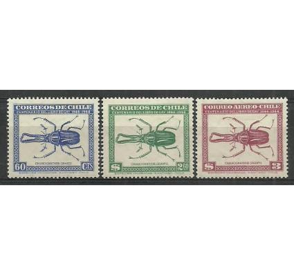 Znaczek Chile 1948 Mi 375,400,425 Z podlepką *