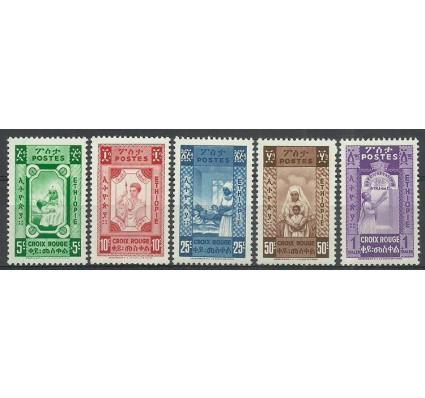 Znaczek Etiopia 1936 Mi I-V Czyste **