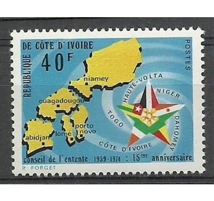 Znaczek Wybrzeże Kości Słoniowej 1974 Mi 449 Czyste **