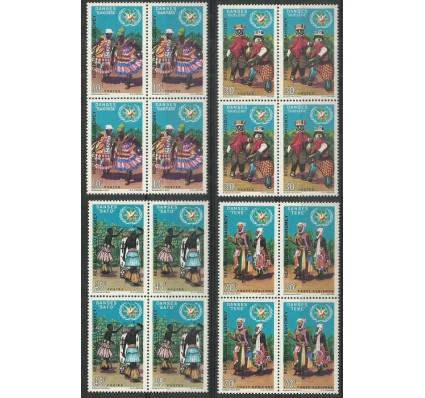 Znaczek Dahomej 1969 Mi 395-398 Czyste **