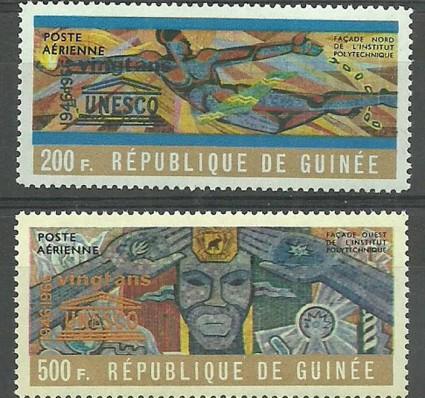 Znaczek Gwinea 1965 Mi 322-323 Czyste **