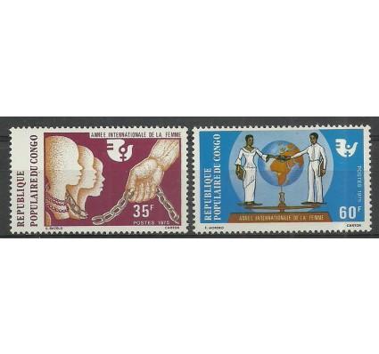 Znaczek Kongo 1975 Mi 506-507 Czyste **
