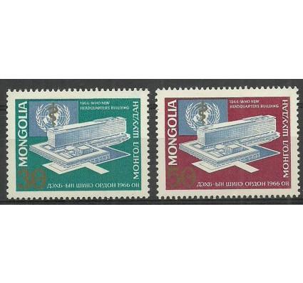 Znaczek Mongolia 1966 Mi 418-419 Czyste **