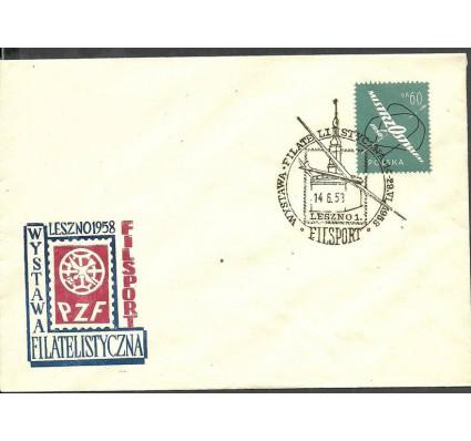 Znaczek Polska 1958 Mi 1058 Fi 913 FDC