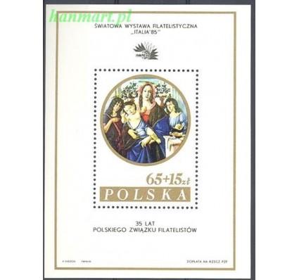 Znaczek Polska 1985 Mi bl 96II Fi bl 126II Czyste **