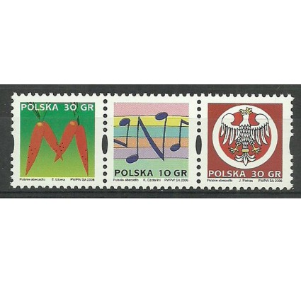 Znaczek Polska 2006 Mi 4271-4273 Fi 4132-4134 Czyste **