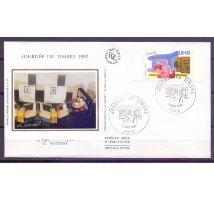 Znaczek Francja 1992 Mi 2889IIb FDC