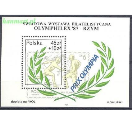 Polska 1987 Mi bl 104 Fi bl 134 Czyste **