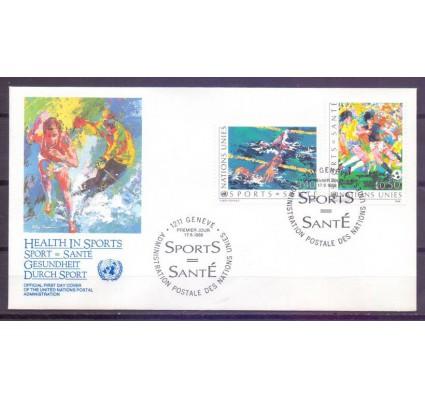 Znaczek Narody Zjednoczone Genewa 1988 Mi 169-170 FDC