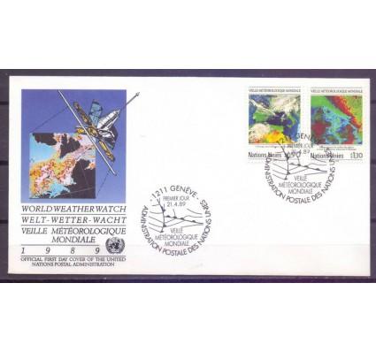 Znaczek Narody Zjednoczone Genewa 1989 Mi 176-177 FDC