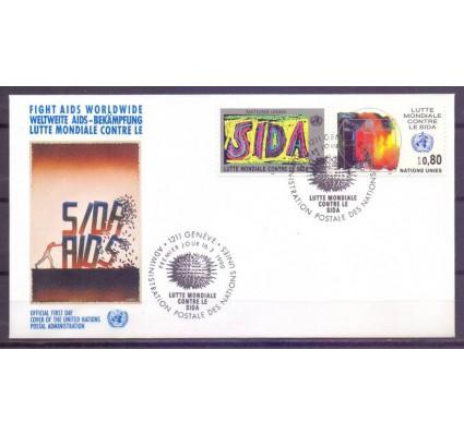 Znaczek Narody Zjednoczone Genewa 1990 Mi 184-185 FDC