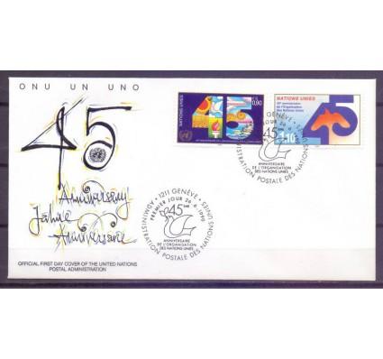 Znaczek Narody Zjednoczone Genewa 1990 Mi 188-189 FDC