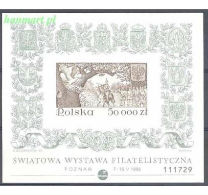 Znaczek Polska 1993 Mi bl 122B Fi bl 152A Czyste **