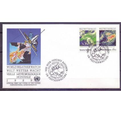 Znaczek Narody Zjednoczone Wiedeń 1989 Mi 92-93 FDC