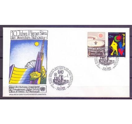 Znaczek Narody Zjednoczone Wiedeń 1989 Mi 94-95 FDC