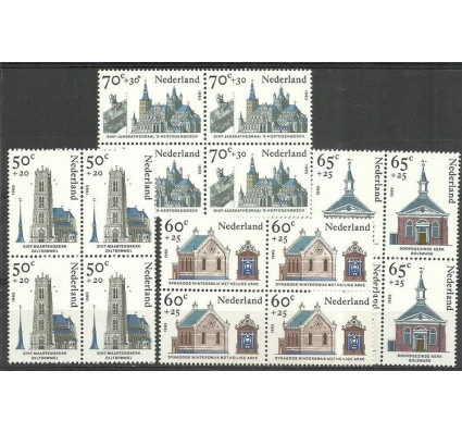 Znaczek Holandia 1985 Mi 1266-1269 Czyste **