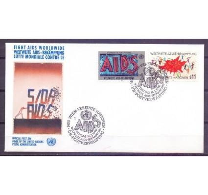 Znaczek Narody Zjednoczone Wiedeń 1990 Mi 100-101 FDC