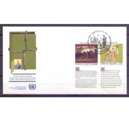 Znaczek Narody Zjednoczone Wiedeń 1990 Mi 108-109 FDC